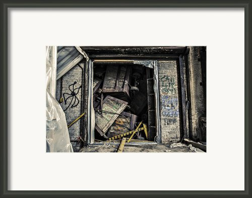Stacked Framed Print By Cj Schmit