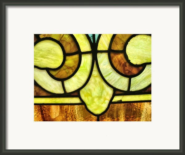 Stained Glass 3 Framed Print By Tom Druin