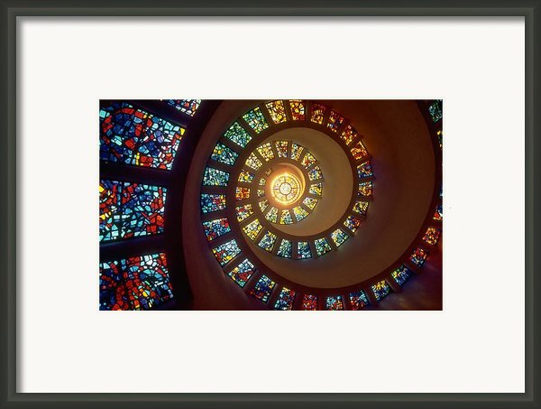 Stained Glass Framed Print By Sanely Great