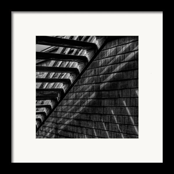 Stairs Framed Print By David Patterson