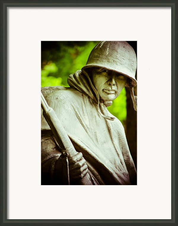 Stalwart Soldier Framed Print By Christi Kraft