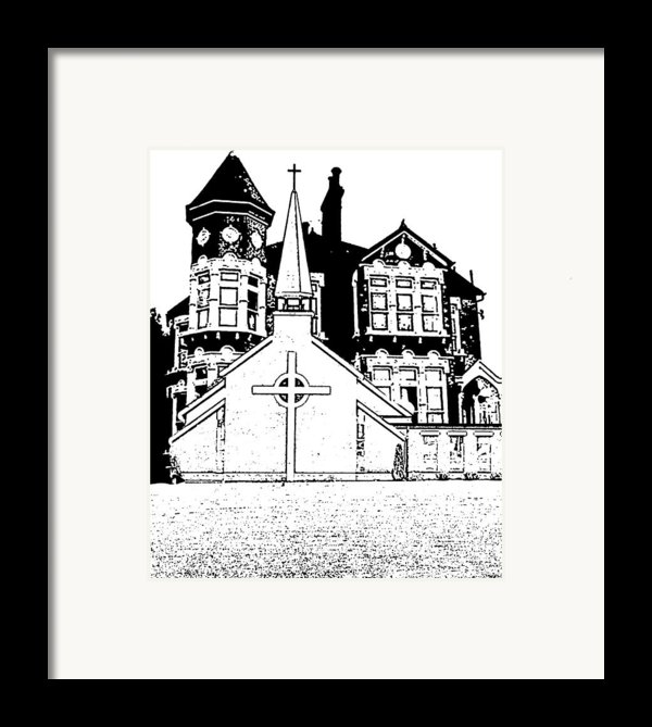 Stamps  Framed Print By Vicky  Hutton