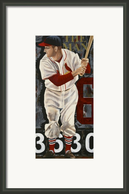 Stan Musial Framed Print By Terry  Hester