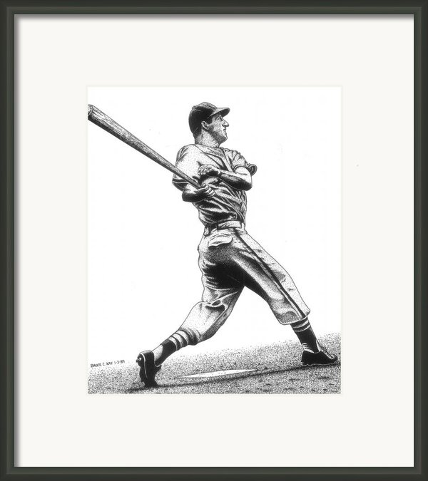 Stan The Man Framed Print By Bruce Kay