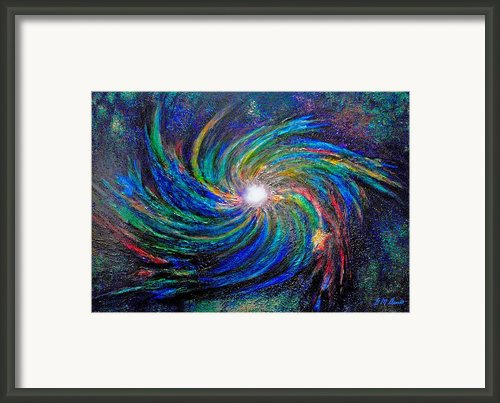 Star Birth Framed Print By Michael Durst