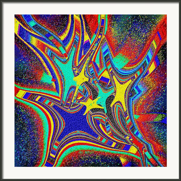 Star Cluster Framed Print By Ray Yeargin