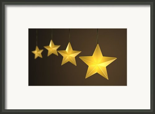 Star String Lights Framed Print By Scott Norris