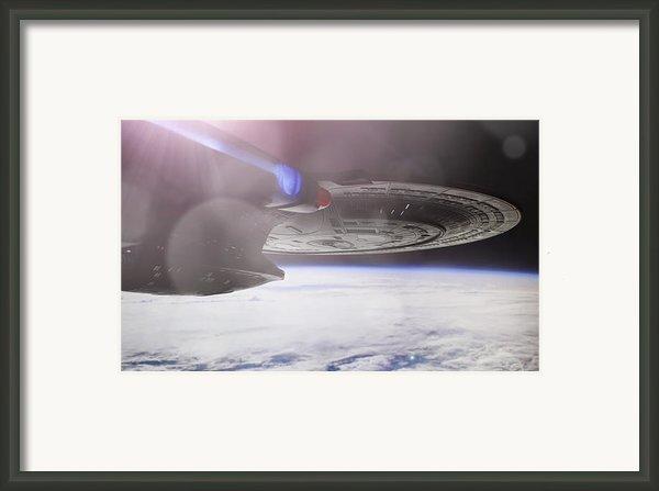 Star Trek - A New Civilization Framed Print By Jason Politte