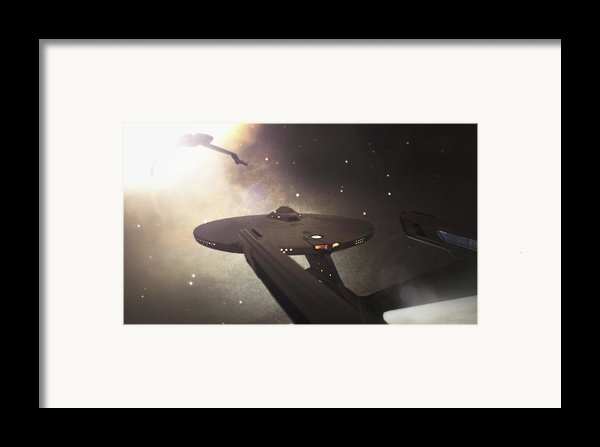 Star Trek Standoff Framed Print By Jason Politte