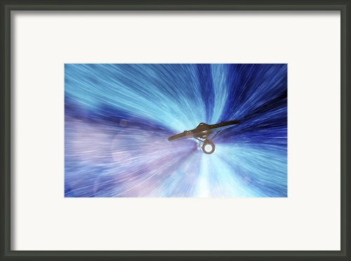 Star Trek - Warp Speed Mr. Scott Framed Print By Jason Politte