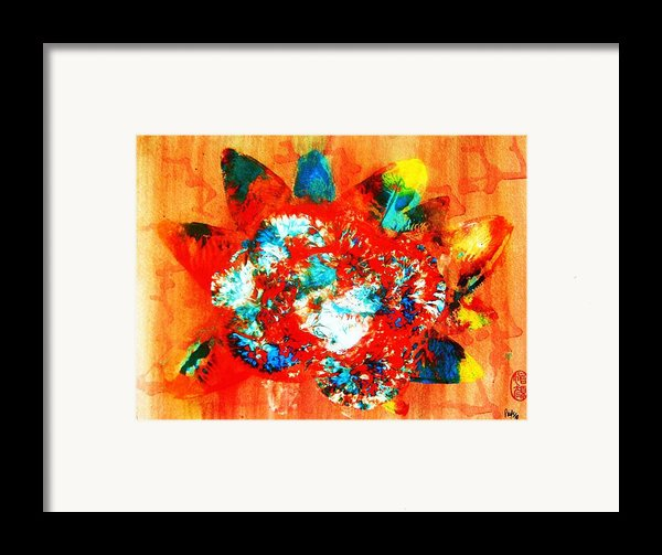 Starburst Nebula Framed Print By Roberto Prusso