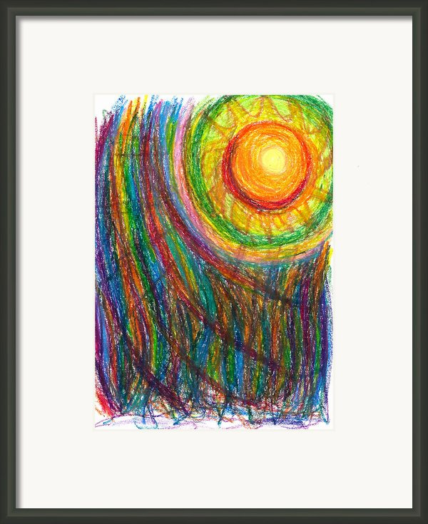 Starburst - The Nebular Dawning Of A New Myth And A New Age Framed Print By Daina White