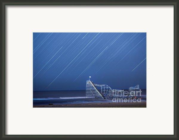 Starjet Under The Stars Framed Print By Michael Ver Sprill