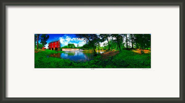 Starrs Mill 360 Panorama Framed Print By Lar Matre