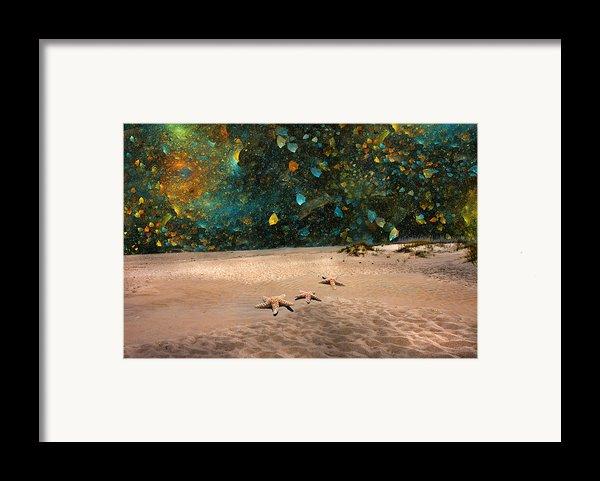 Starry Beach Night Framed Print By Betsy C  Knapp