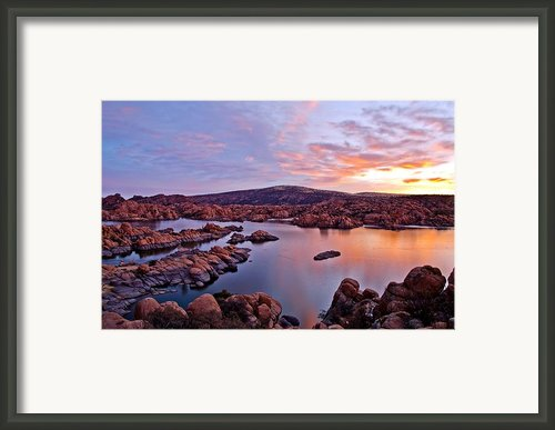 Start Of A New Day Framed Print By Jag Fergus