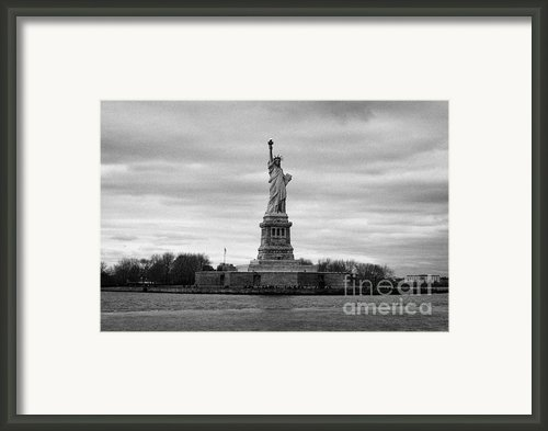 Statue Of Liberty Liberty Island New York City Framed Print By Joe Fox