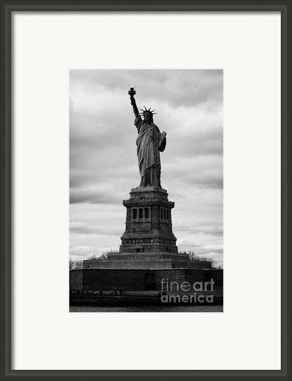 Statue Of Liberty National Monument Liberty Island New York City Usa Framed Print By Joe Fox