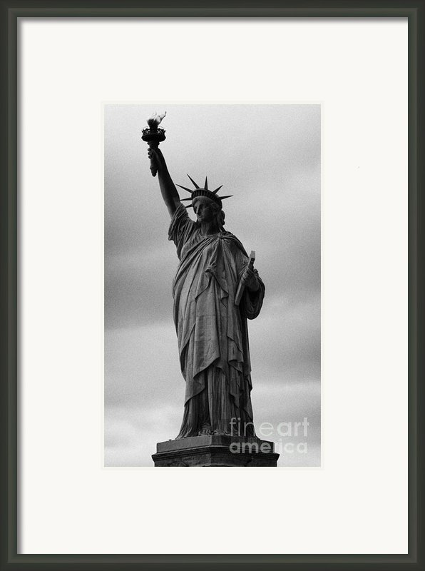 Statue Of Liberty New York City Usa Framed Print By Joe Fox