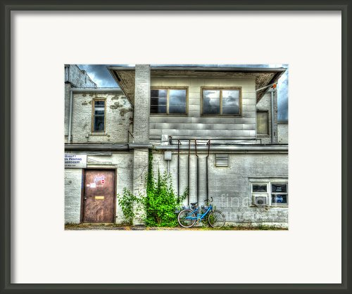 Stay Local Framed Print By Mj Olsen