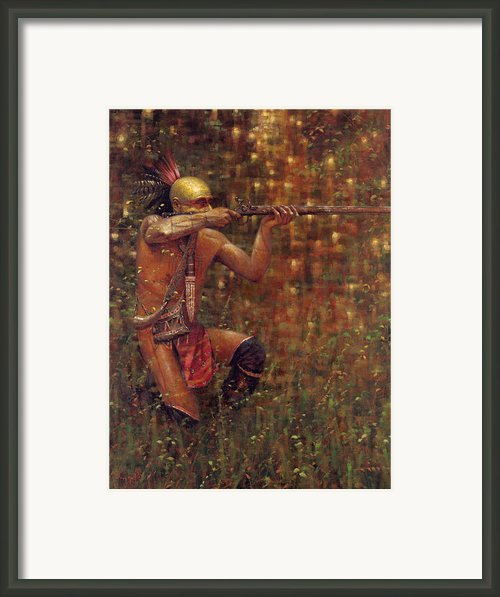 Steadfast Steadfast Framed Print By Doug Hall