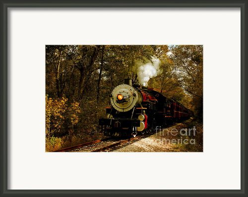Steam Engine No. 300 Framed Print By Robert Frederick