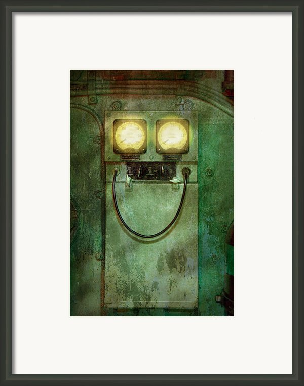 Steampunk - Be Happy Framed Print By Mike Savad
