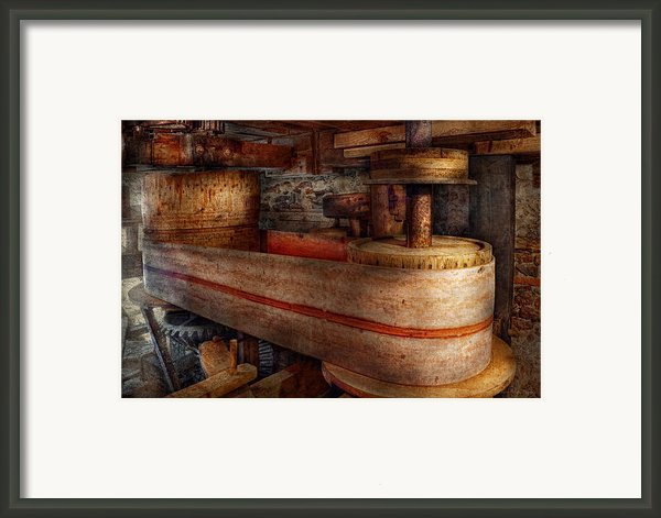 Steampunk - Belts - Old School Is Best Framed Print By Mike Savad