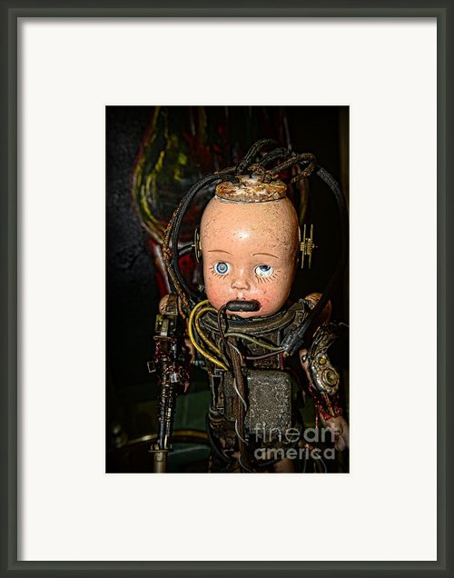 Steampunk - Cyborg Framed Print By Paul Ward