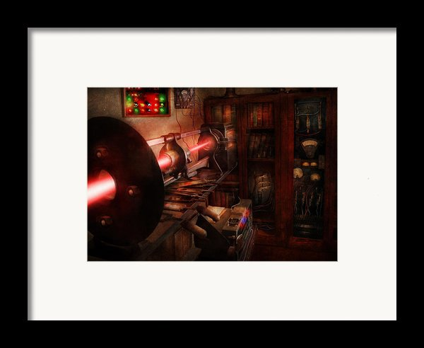 Steampunk - Photonic Experimentation Framed Print By Mike Savad
