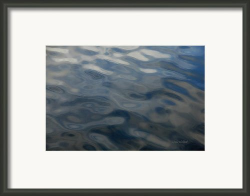 Steel Blue Framed Print By Donna Blackhall