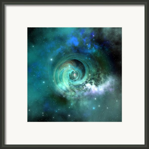 Stellar Matter Framed Print By Corey Ford