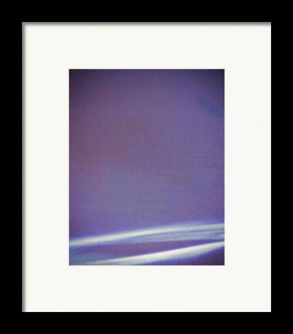 Stellar Ribbon Framed Print By Eric Canuel