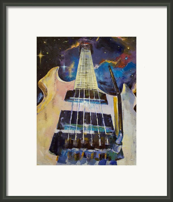 Stellar Rift Framed Print By Michael Creese