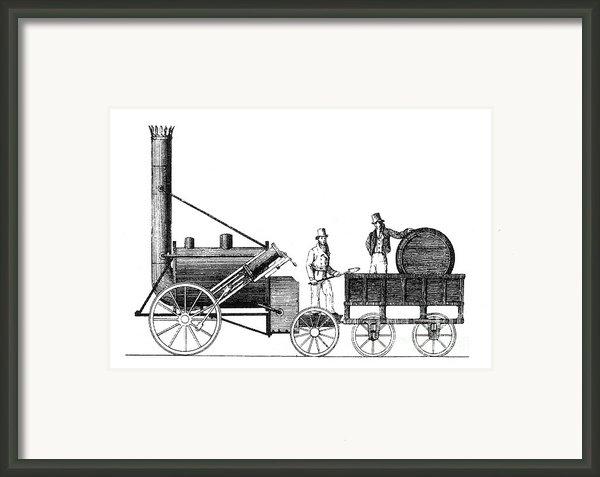 Stephensons Rocket 1829 Framed Print By Science Source