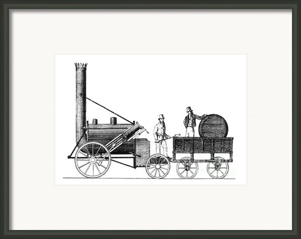 Stephensons Rocket 1829 Framed Print By Science Source
