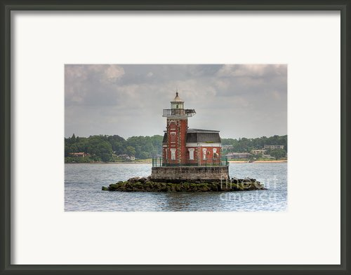 Stepping Stones Lighthouse I Framed Print By Clarence Holmes