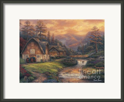 Steps Off The Appalachian Trail Framed Print By Chuck Pinson