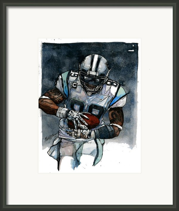 Steve Smith Framed Print By Michael  Pattison