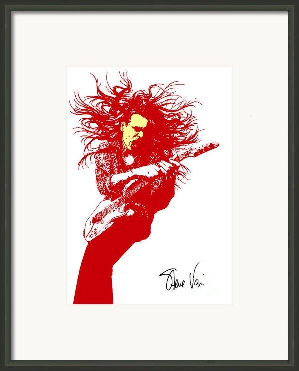Steve Vai No.01 Framed Print By Caio Caldas