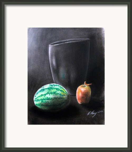 Still Life 1 Framed Print By Michael Alvarez
