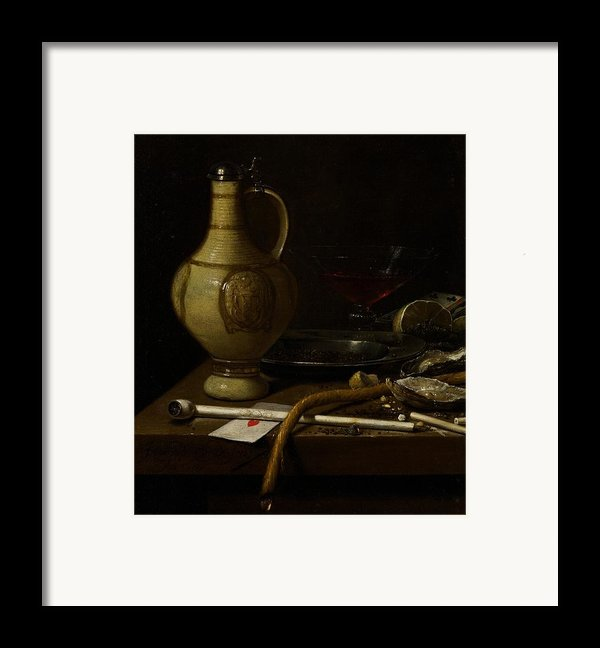 Still Life Framed Print By Jan Jansz Van De Velde