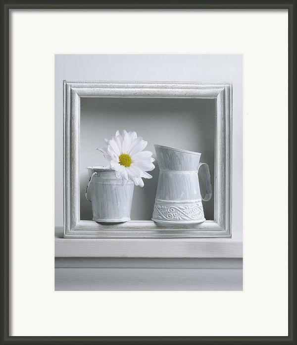 Still Life With A Wooden Box Framed Print By Krasimir Tolev