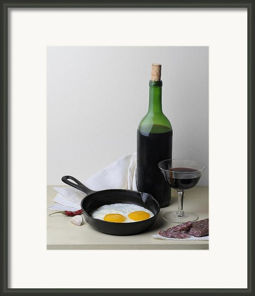 Still Life With Eggs Framed Print By Krasimir Tolev