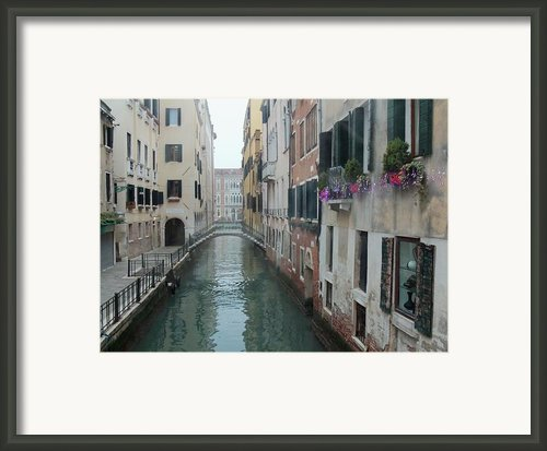 Still Waters In Venice Italy Framed Print By Jan Moore