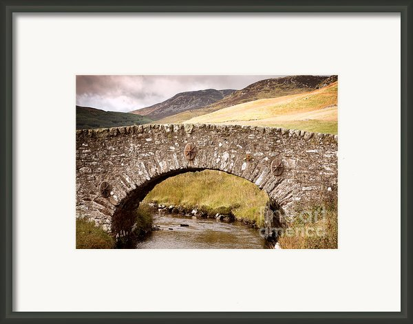 Stone Bridge Highlands  Framed Print By Jane Rix