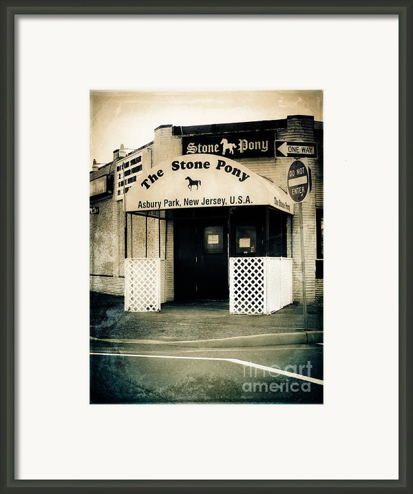 Stone Pony Framed Print By Colleen Kammerer