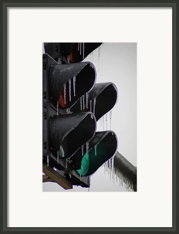 Stop Go Framed Print By Off The Beaten Path Photography - Andrew Alexander