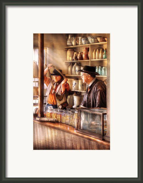 Store - The Messenger  Framed Print By Mike Savad