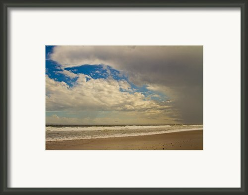 Storm Approaching Framed Print By Karol  Livote
